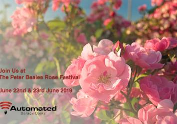 Auto Doors at the Peter Beales Rose Festival 2019